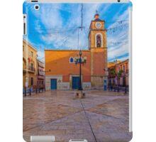 Plaza Canalejas -  El Campello iPad Case/Skin