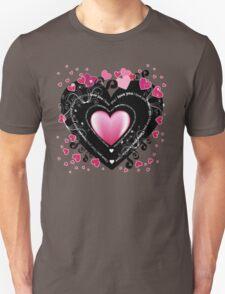 I_Love_You Hearts Unisex T-Shirt