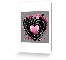 I_Love_You Hearts Greeting Card