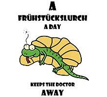 A Frühstückslurch a day keeps the doctor away! Photographic Print