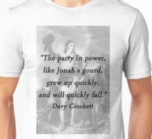 Party In Power - Davy Crockett Unisex T-Shirt