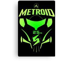 Metroid 25th Canvas Print