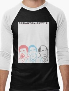 The Office: Scrantonicity 2 Band Shirt Men's Baseball ¾ T-Shirt