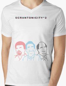 The Office: Scrantonicity 2 Band Shirt Mens V-Neck T-Shirt