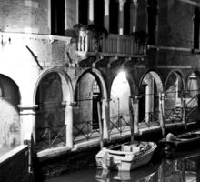 Venice by Night Sticker