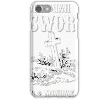 In Loving Memory - Jeremiah Unsworth Undertakers iPhone Case/Skin
