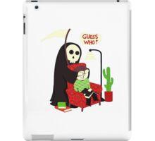 funny grim reaper iPad Case/Skin