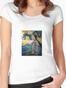 the bride of the water god Women's Fitted Scoop T-Shirt