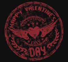 Valentine's Day One Piece - Short Sleeve
