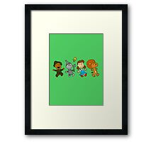 The Wizard of Oz - Snoopy Framed Print