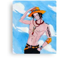 Ace Canvas Print