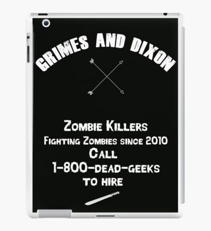 Zombie Killers iPad Case/Skin