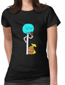 Funny Lolipop Womens Fitted T-Shirt