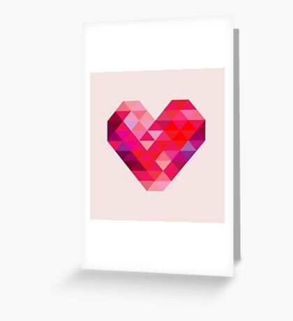 Prism Heart Greeting Card