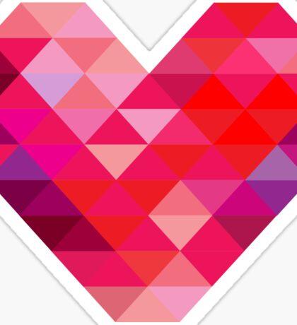Prism Heart Sticker