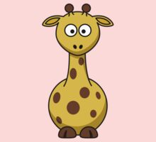 Cartoon Giraffe  One Piece - Long Sleeve