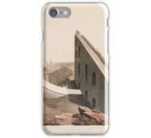 WILLIAM DANIELL, & THOMAS DANIELL, THE OBSERVATORY AT DELHI, FROM ORIENTAL SCENERAY iPhone Case/Skin