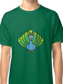 Colourful Peacock Classic T-Shirt