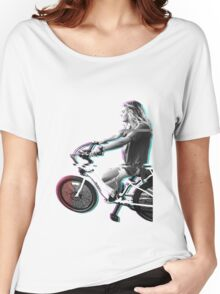 Glitching the ride Women's Relaxed Fit T-Shirt