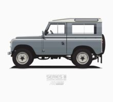 Series 3 Station Wagon 88 Mid Grey One Piece - Short Sleeve