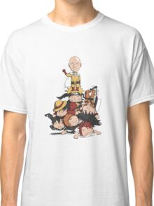 New Anime Hero - Saitama Classic T-Shirt