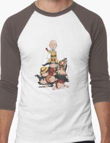 New Anime Hero - Saitama Men's Baseball ¾ T-Shirt