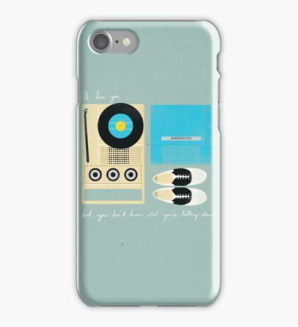 Mile 3.25 Tidal Inlet iPhone Case/Skin
