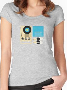Mile 3.25 Tidal Inlet Women's Fitted Scoop T-Shirt