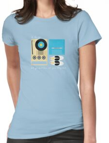 Mile 3.25 Tidal Inlet Womens Fitted T-Shirt