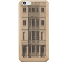 Robert Adam  British Coffee House - Pen and black ink, with gray wash, on paper. iPhone Case/Skin