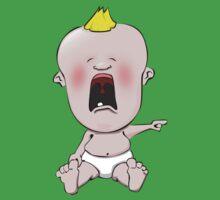 Crying cartoon baby One Piece - Short Sleeve