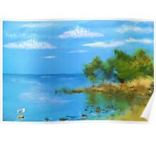 Ocean Island Poster