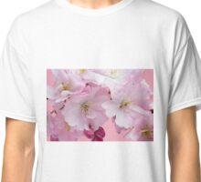 Pink Cherry Blossom  Classic T-Shirt