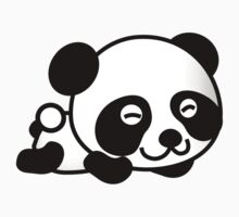 Cute Cartoon Baby Panda Baby Tee