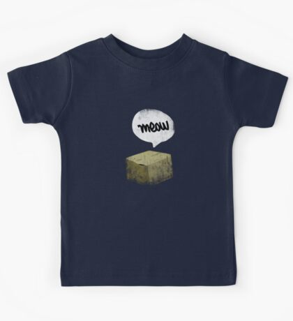 Warren Schrodinger's cat vintage Kids Tee