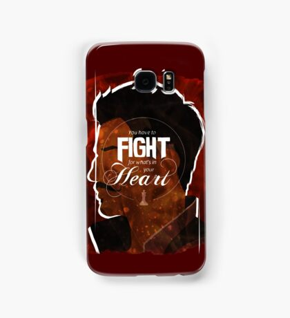 Dorian - Fight For What's In You Heart Samsung Galaxy Case/Skin