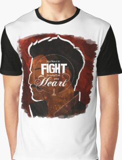 Dorian - Fight For What's In You Heart Graphic T-Shirt