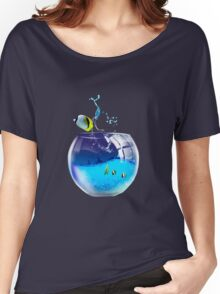 aquarium Women's Relaxed Fit T-Shirt