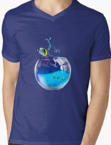 aquarium Mens V-Neck T-Shirt