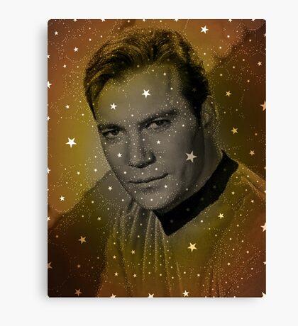 William Shatner as Captain Kirk Canvas Print
