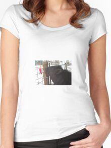 The First Encounter Women's Fitted Scoop T-Shirt
