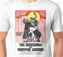 The Werewolf vs. Vampire Woman Unisex T-Shirt