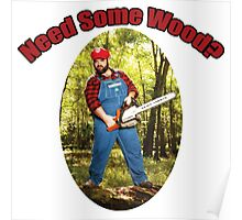 SexyMario - Need Some Wood? Poster