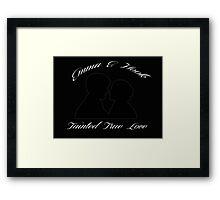 Tainted True Love Framed Print
