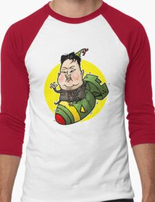 Kim Jong-FUN Men's Baseball ¾ T-Shirt