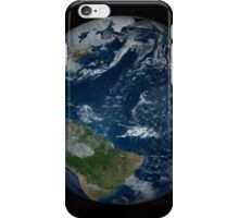 Earth with clouds and sea ice from December 8, 2008. iPhone Case/Skin