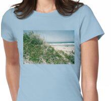 Beach Near Monterey, California Womens Fitted T-Shirt