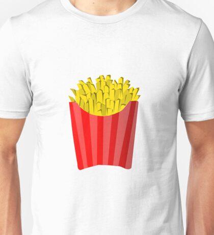 Cartoon Fries Unisex T-Shirt