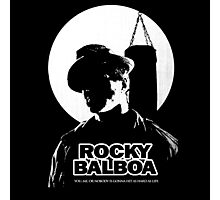 ROCKY BALBOA GIFT  Photographic Print