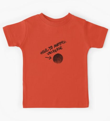 Hole to another Universe vintage Kids Tee